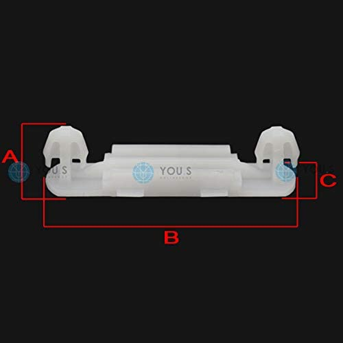10 x YOU.S Original Seitenschweller Zierleisten Montage Clip A0099884478