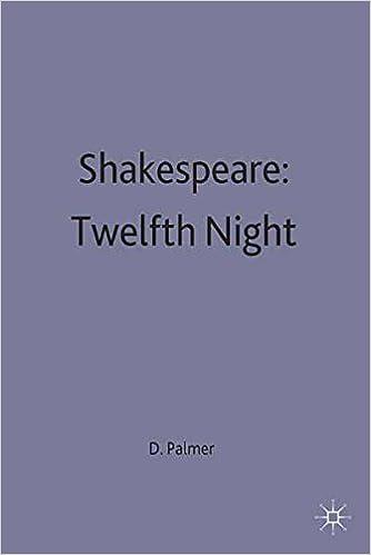 twelfth night a-level essays