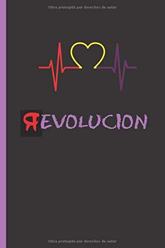 """EVOLUCION: (R)EVOLUCION. PASIÓN REPUBLICANA.  CUADERNO 6"""" X 9"""" Tamaño Cuartilla. 120 Pgs. REGALO ORIGINAL.  DIARIO, CUADERNO DE NOTAS, APUNTES O AGENDA."""