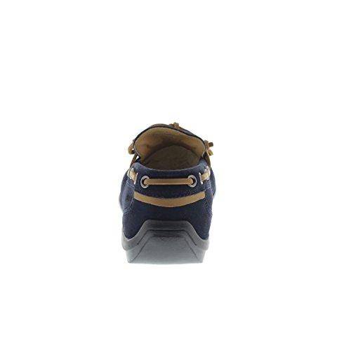 Uomo Mocassini Leman 002A01 blu Lumberjack Loafer CC001 dTwUn7