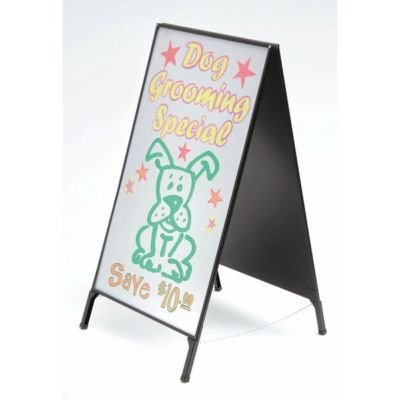 2-Sided Dry Erase Message Board Sidewalk Sign by Accent Printing & Signs