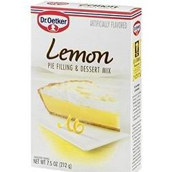 Oetker Pie Filling, Lemon, 7.5-Ounces (Pack of 12)