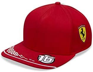 Ferrari Logo Carbon Cap Basecap Schildmütze 58  rund Vettel Leclerc verstellbar