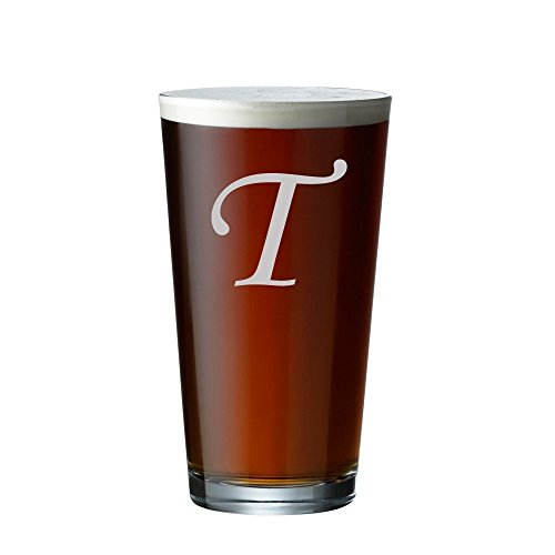 Custom Beer Glass - Engraved Pint Glass - Personalized Beer Glass - Etched Pint (09 Etched Glass)