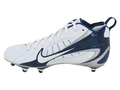 Blue Crampons Truite Force 3 Rush White Racer nbsp;Mid Homme Nike pour Baseball Métal Blue Zoom nHxTB