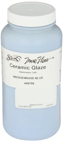 Sax True Flow Gloss Glaze, Sky Blue Wedgewood, 1 Pint