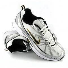 a06ae785335 Nike Dart VI White Black Metallic 8.5 UK  Amazon.co.uk  Shoes   Bags