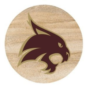 Set of Four Texas State University - San Marcos Thirstystone Drink Coasters (Texas San Marcos)