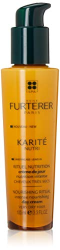 Rene Furterer KARITE NUTRI Intense Nourishing Day Cream, Leave-in Cream, Shea Oil, Shea Butter, 3.3 oz.
