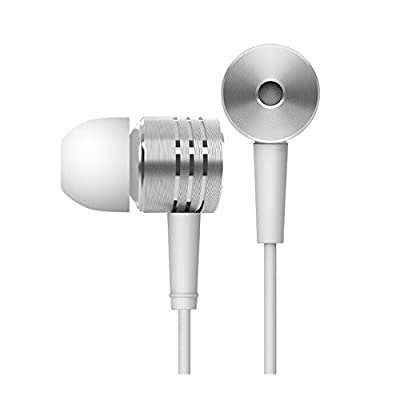 100% Original Xiaomi Earphone Excellent Sound Piston Bass Silver Earpods 3.5mm Noise Cancelling Headphone with Mic