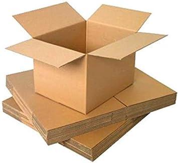 20 cajas fuertes de cartón grandes para mudanzas de embalaje, almacenamiento de doble pared (18