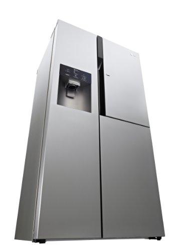 LG GS 9366 NEDZ Side by Side Kühl-Gefrier-Kombination (A++, 405 L Kühlen, 209 L Gefrieren, NoFrost, Wasserspender) edelstahl