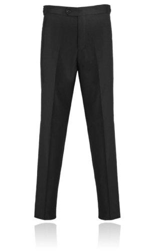 Men's Slim Fit Black Tuxedo Pants 34 Regular