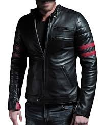 Paradigm men's black genuine lambskin leather stylish jacket SL767 3XL