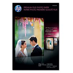 ** Premium Plus Photo Paper, 75 lbs., High-Gloss, 11 x 17, 25 Sheets/Pack