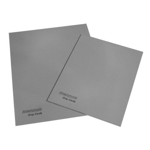 Mennon Set of 2 Gray Cards size 4