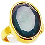 Riyo or onyx de gemmes femmes sertie bague camée 6 vert