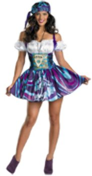 Ouija Dress Adult Womens Costumes (Ouija Sassy Adult Costume - Small)