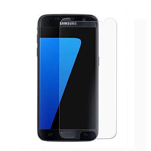 [2Pcs] for Samsung Galaxy S7 Tempered Glass Screen Protector,Wubian[9H Hardness][Anti-Scratch][Case Friendly][HD Clear][Anti-Fingerprint] for Tempered Glass Screen Protector Galaxy S7