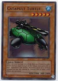 Yu-Gi-Oh! - Catapult Turtle (MRD-075) - Metal Raiders - Unlimited Edition - Super Rare ()