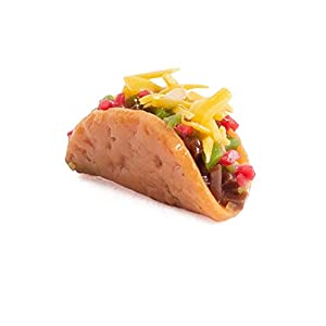 6 pieces dollhouse miniature taco for home projects crafting and of course taco tuesday