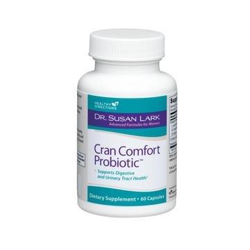 Dr Lark Supplément de Cran Cranberry Confort probiotiques pour la santé des voies urinaires, 60 capsules (30 jours d'approvisionnement)