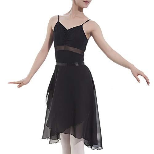 GOGO TEAM Adult Sheer Wrap Skirt Ballet Skirt Ballet Dance Dancewear