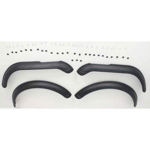Fender Flares for CJ SERIES 1959-1986 FRONT AND REAR RH AND LH with ()