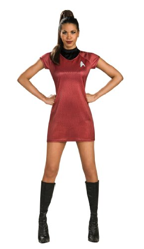Rubie's Star Trek Into Darkness Uhura Dress, Red, Small(6-10) -