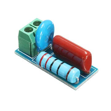 5Pcs RC Resistance Surge Absorption Circuit Relay Contact Protection Circuit Electromagnetic - Module Board for Arduino Relay Module - 5 xRC Resistance Surge Abs