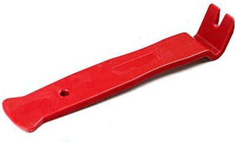 6個の高強度ナイロン車のドアパネルダッシュトリム取り外しPry Openツールキットカーオーディオ分解ツール6個セット-赤