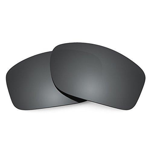 Revant Polarized Replacement Lenses for Oakley Valve Black Chrome MirrorShield
