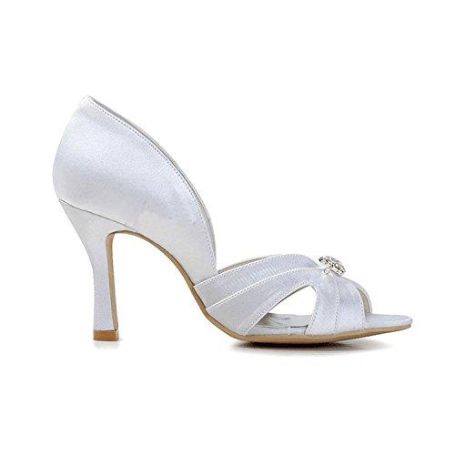 Heel pour blanc 5cm Sandales White femme Minitoo 9 07AOTqn