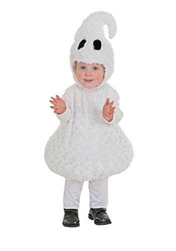 Ghost Costumes (Underwraps Baby's Ghost Belly-Babies, White,)