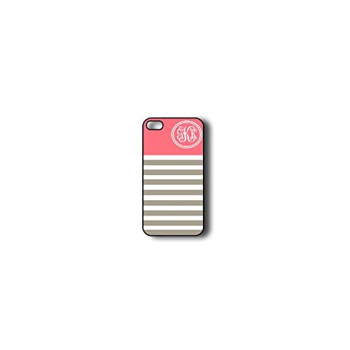 Krezy Case Monogram iphone 4 Case, Colorful stripes Pattern Monogram iphone 4 Case, Monogram iphone 4 Case, iphone...