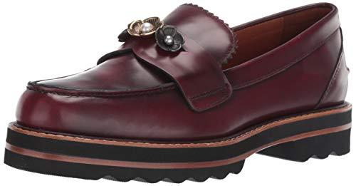 Coach Womens's Lenox Loafer Shoes Cabernet (9.5, Cabernet)
