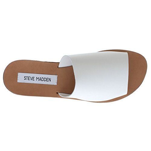 Steve Madden - Slippers mujer Blanco