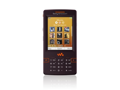 Sony Ericsson W950i 4 GB Unlocked Cell Phone with International 3G, MP3/Video Player-International Version with No Warranty (Mystic Purple) (Sony Ericsson Digital Mp3 Player)