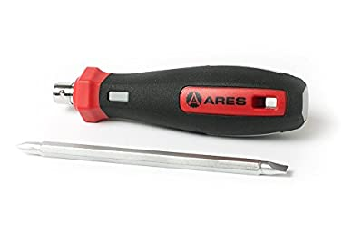 8 Way Philips Precision Screwdriver w/ Magnetic Tip| ARES 70003 | Replace Your Set w/ One Driver for Home, Construction, & Computer Repair