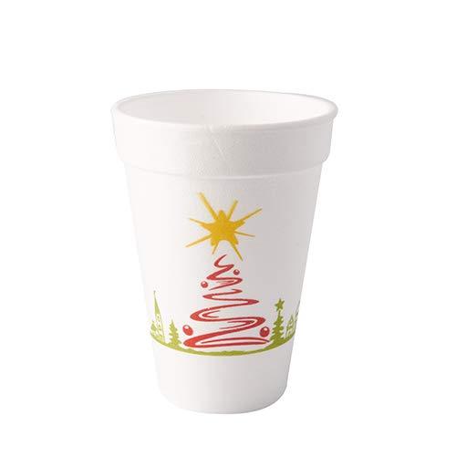 50 Vasos térmicos, EPS 0,25 l Ø 8,5 cm · 10,2 cm blanco