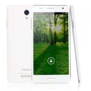 "TELSDA T9333 5.5"" Android4.2.2 OS GSM MTK6572 1.2GHz RAM1GB Smart Cellphone White (EU Standard)"