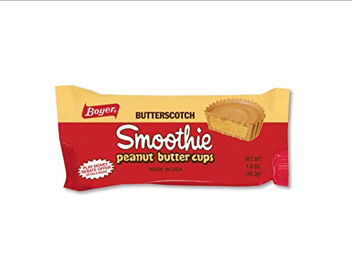 (Boyer Candy Co Butterscotch Peanut Butter Smoothie Cup, 1.6-Ounce Packages (Pack of 24) )