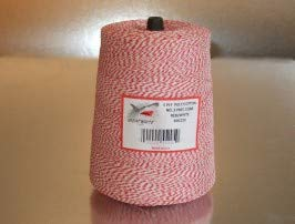 BAKERY TWINE, RED & WHITE, 2-LB. CONE by GREAT WHITE