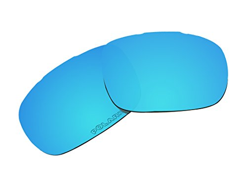 Polarized Replacement Lenses Blue Mirror Coatings for Oakley Twoface - Oo9189 05