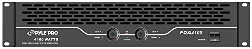 Pyle-Pro PQA4100 19'' Rack Mount 4100 Watts Professional Power Amplifier W/Digital SMT Technology (Power Amplifier Rackmount Professional)