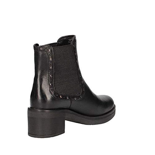 Kylie Lumberjack Femme Chaussures SW51203 Talon CB001 Q12 Black 002 Bottines à XXHxra