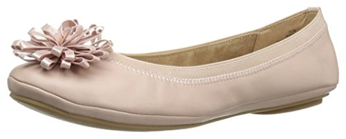 Bandolino Women's Eloy Ballet Flat, Dusty Pink, 6 M US