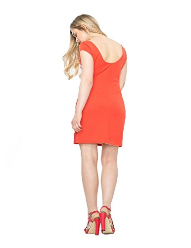 Robe Desigual Fabiola Poppy Corail 61v20q1