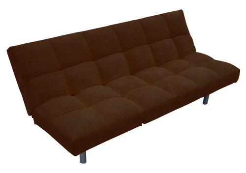 Mac at Home Upright Sofa Bed, Mahogany Brown