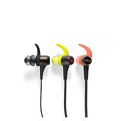 NuForce BESPORT3-GUNMETAL BE Sport3 Wireless Bluetooth In-Ear Headphones for sports, Gunmetal
